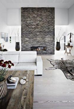 現代簡約黑白風格復式樓閣樓裝修
