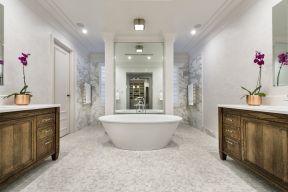 豪華歐式 衛生間裝飾樣板圖