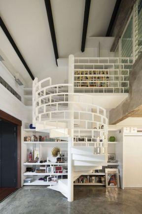 復式樓閣樓裝修 室內樓梯設計