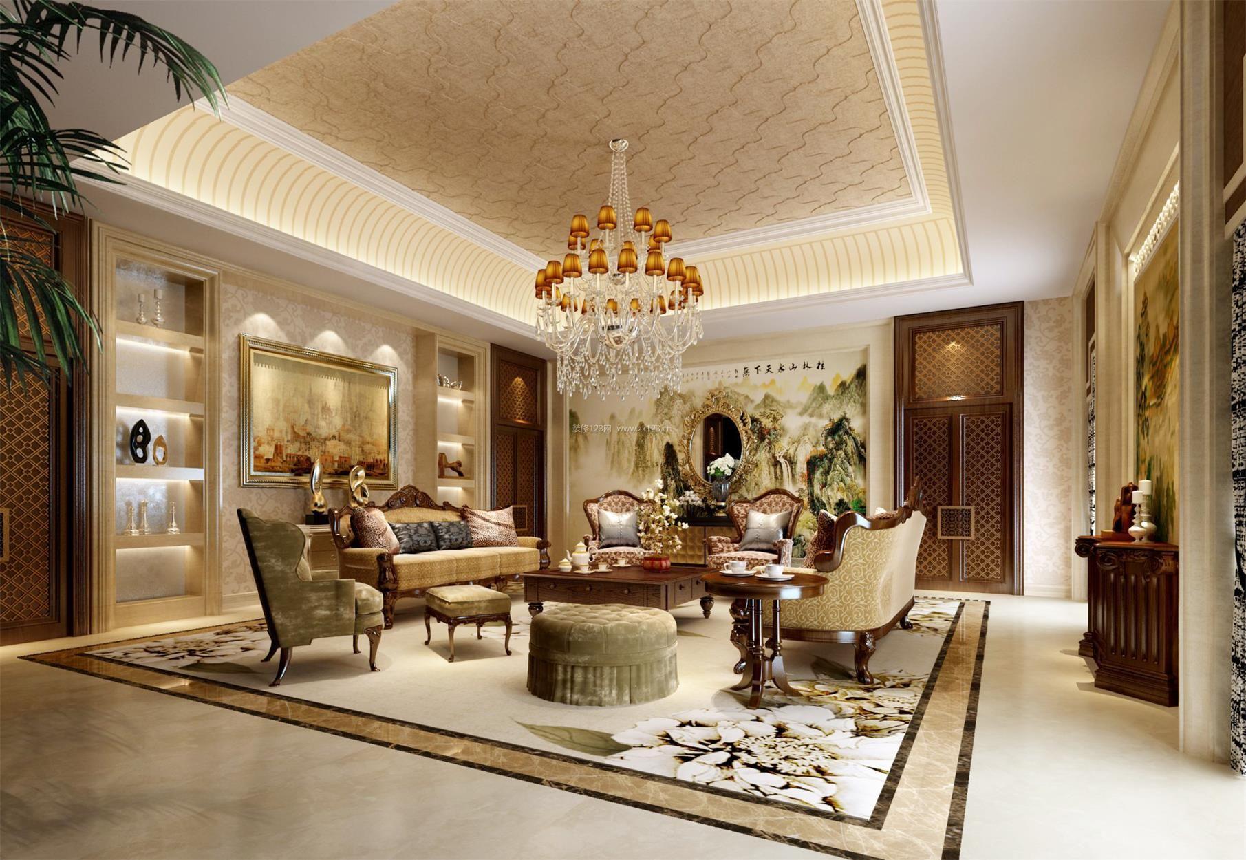 欧式室内装修设计怎么做