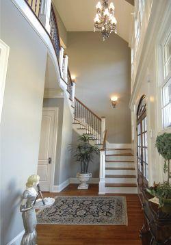 极简风格阁楼复式楼梯设计装修效果图