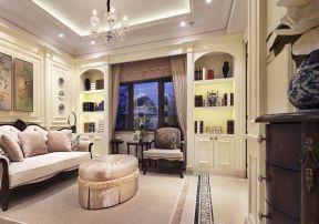 經典歐式 客廳裝修設計圖片