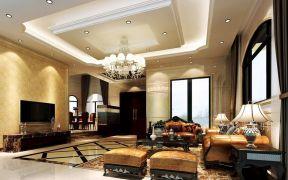 別墅歐式吊頂 客廳歐式風格