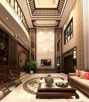 別墅 現代中式裝修效果圖片