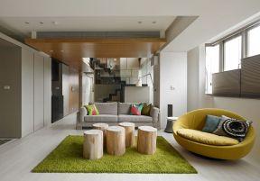 客廳欣賞 復式樓客廳裝修