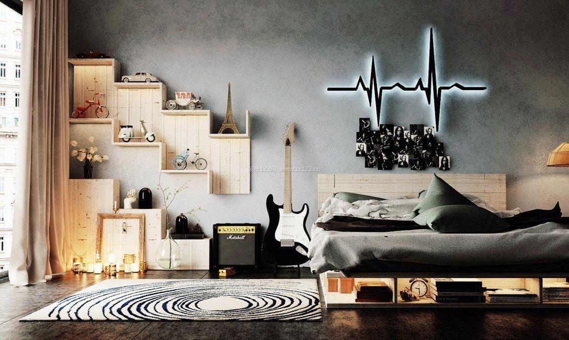 小户型卧室室内创意设计案例
