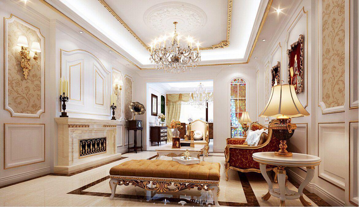 简约欧式客厅时尚大气家装背景墙