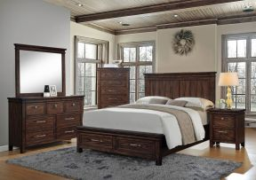 臥室案例 美式風格臥室