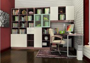 家居書房 辦公室書柜裝飾