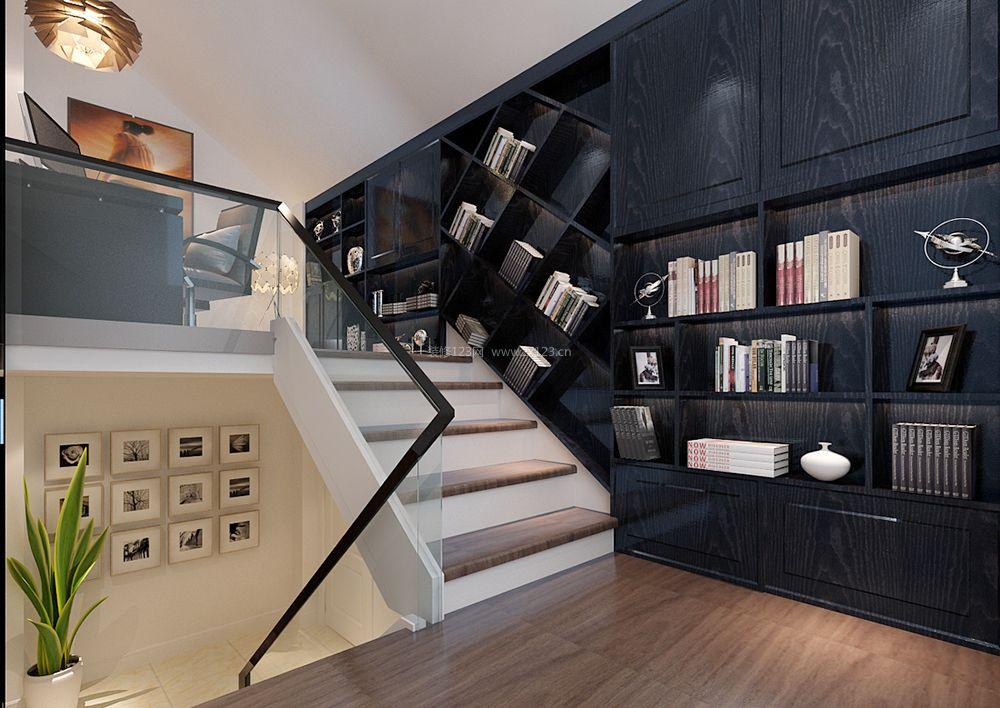 小户型复式楼书柜设计装修效果图大全2017图片图片