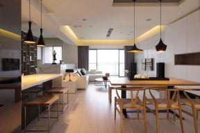客廳和廚房隔斷效果圖大全 長方形客廳裝修效果圖片