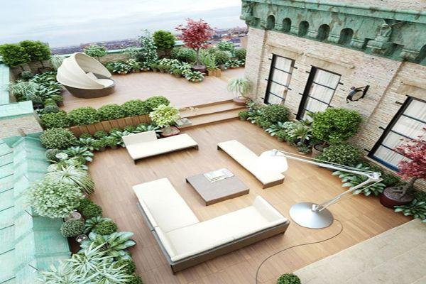 别墅屋顶设计 漂亮堪比庭院