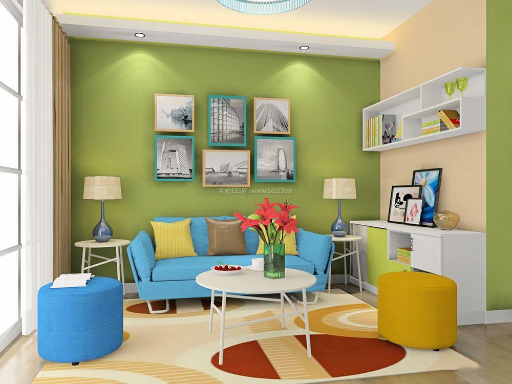 60平米小户型简易家庭客厅装修效果图大全