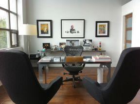 辦公書房裝修效果圖 現代辦公室設計效果圖