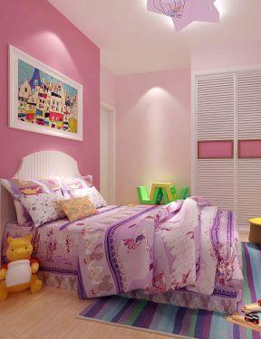 现代简约风格儿童房装修效果图 地毯装修效果图片