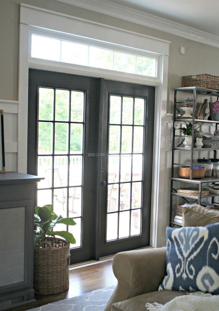 阳台门框室内装饰设计效果图大全2017