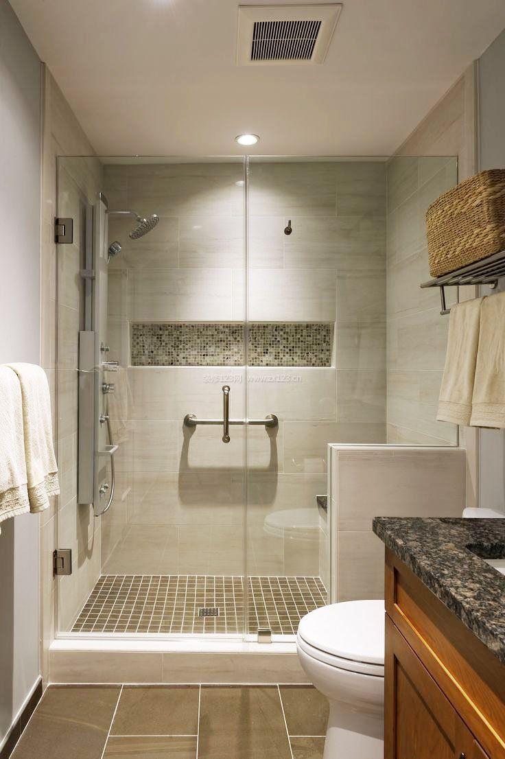 最新家装卫生间瓷砖装修效果图片欣赏