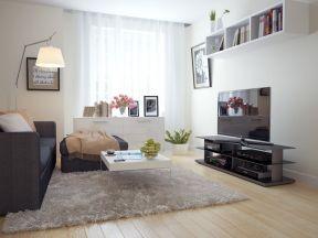 130平米歐式 簡約客廳布置