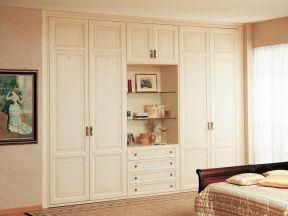 130平米欧式 卧室整体衣柜效果图