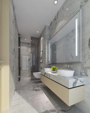 新古典样板房 卫生间装饰样板图