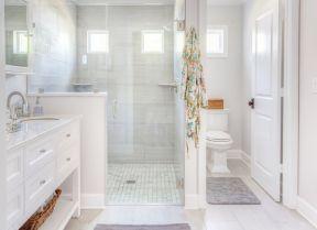 100平米三居室 家庭衛生間裝修圖片