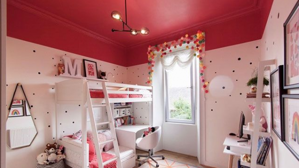 值得一题的是,房间内都为固定的小件家具,从而很好地保护儿童的安全.