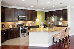 中式風格廚房櫥柜裝修效果圖開放式