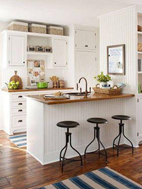 2017美式家庭开放式厨房设计