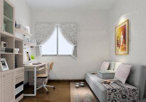 欧式风格书柜 现代家居装修效果图片
