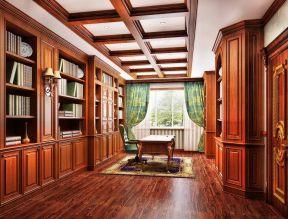 欧式风格书柜 现代欧式书房
