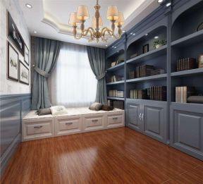 欧式风格书柜 现代简约欧式风格装修效果图片