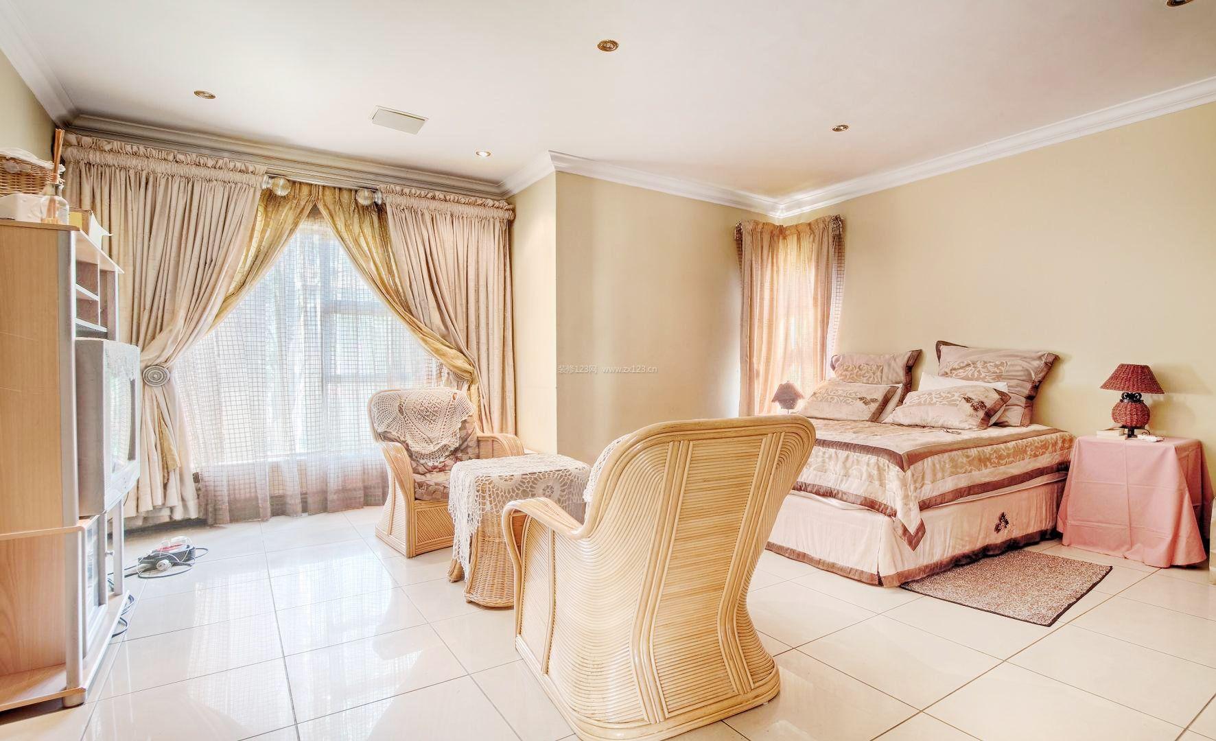 20平方主卧室装修效果图欣赏