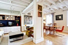 現代家居吊頂 現代歐式風格客廳