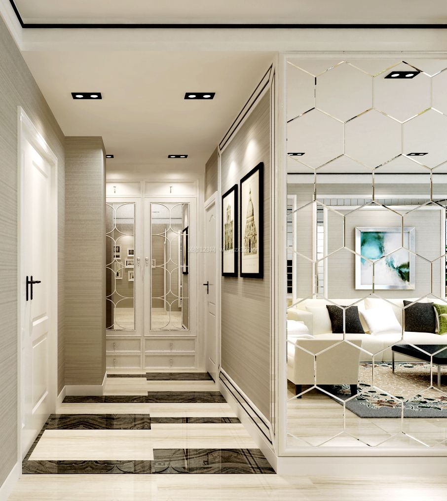 小户型商品房室内设计装修效果图