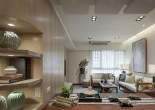 南京二室一厅装修案例 温润木质暖人心