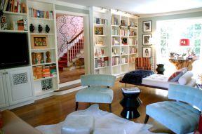 書房客廳 經典復式樓裝修