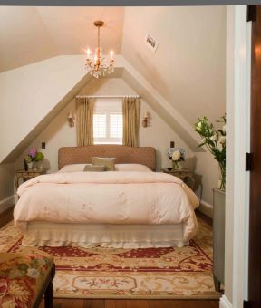 欧式古典卧室设计装修图片2017