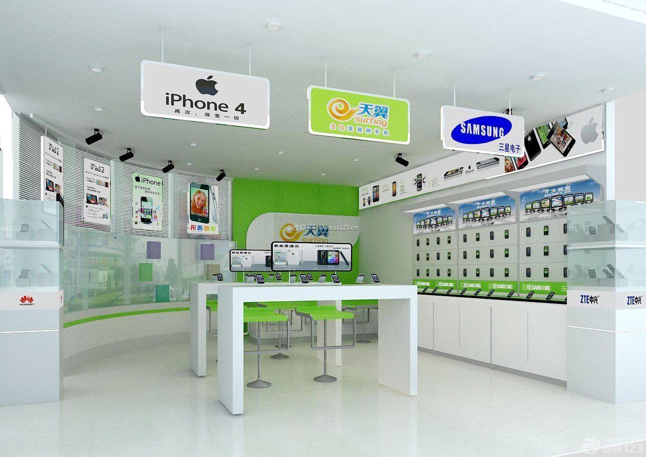 手机柜台摆放技巧 手机柜台批发 手机展柜价格 海湃