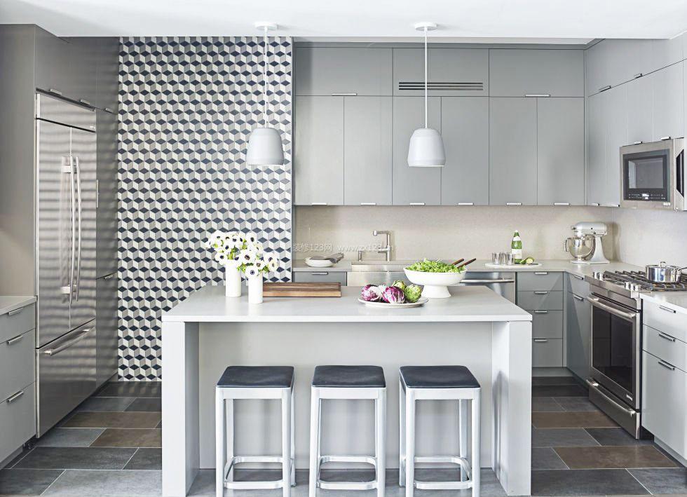 10平厨房地面瓷砖_装修123效果图