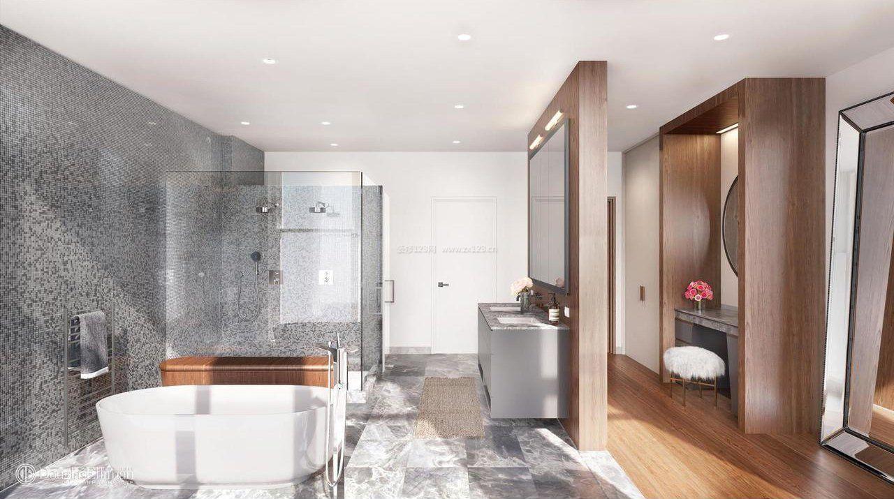 豪华家居卧室浴室设计效果图片图片