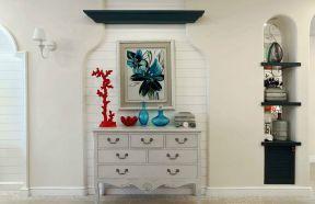 地中海家装效果图 装饰柜装修效果图片