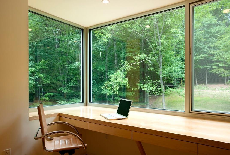 家装效果图 飘窗 房屋飘窗书桌设计图片欣赏 提供者