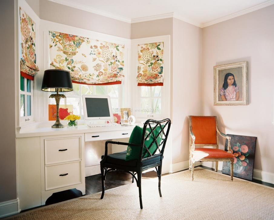 家装效果图 飘窗 房屋飘窗书桌设计图 提供者