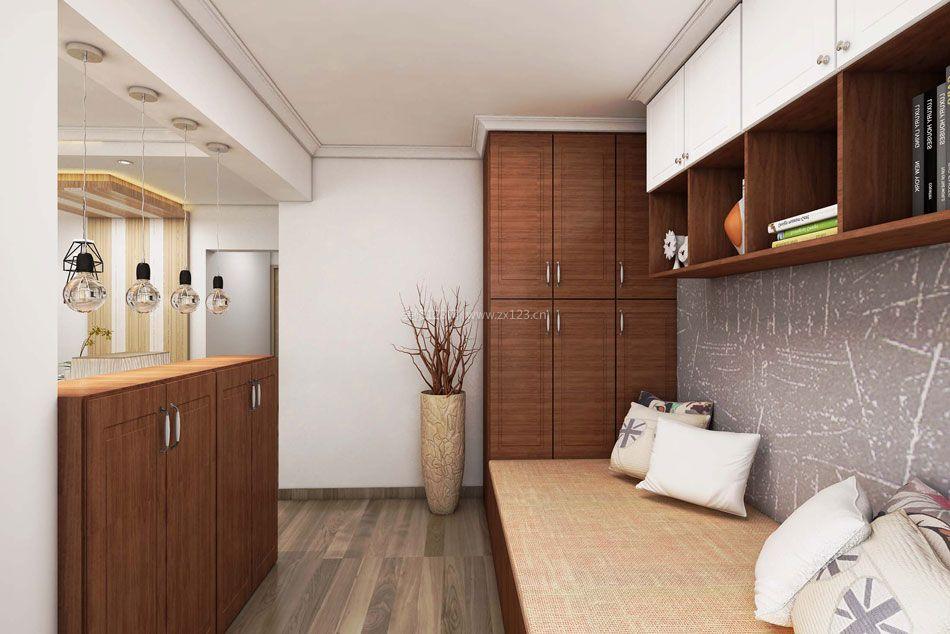 现代北欧风格客厅榻榻米装修效果图片