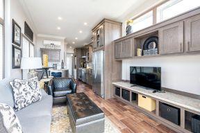 客廳與廚房隔斷圖片 長方形客廳裝修圖片