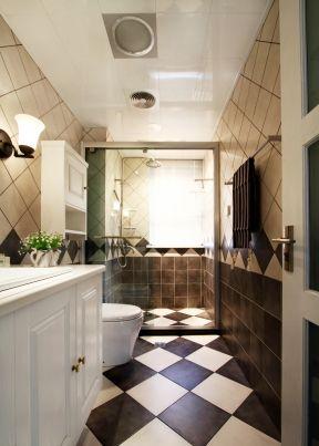 88平米三居室 衛生間浴室裝修圖