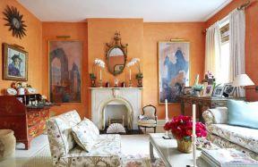 客廳乳膠漆顏色 美式客廳