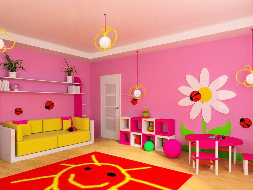 别墅儿童房室内装修效果图大全
