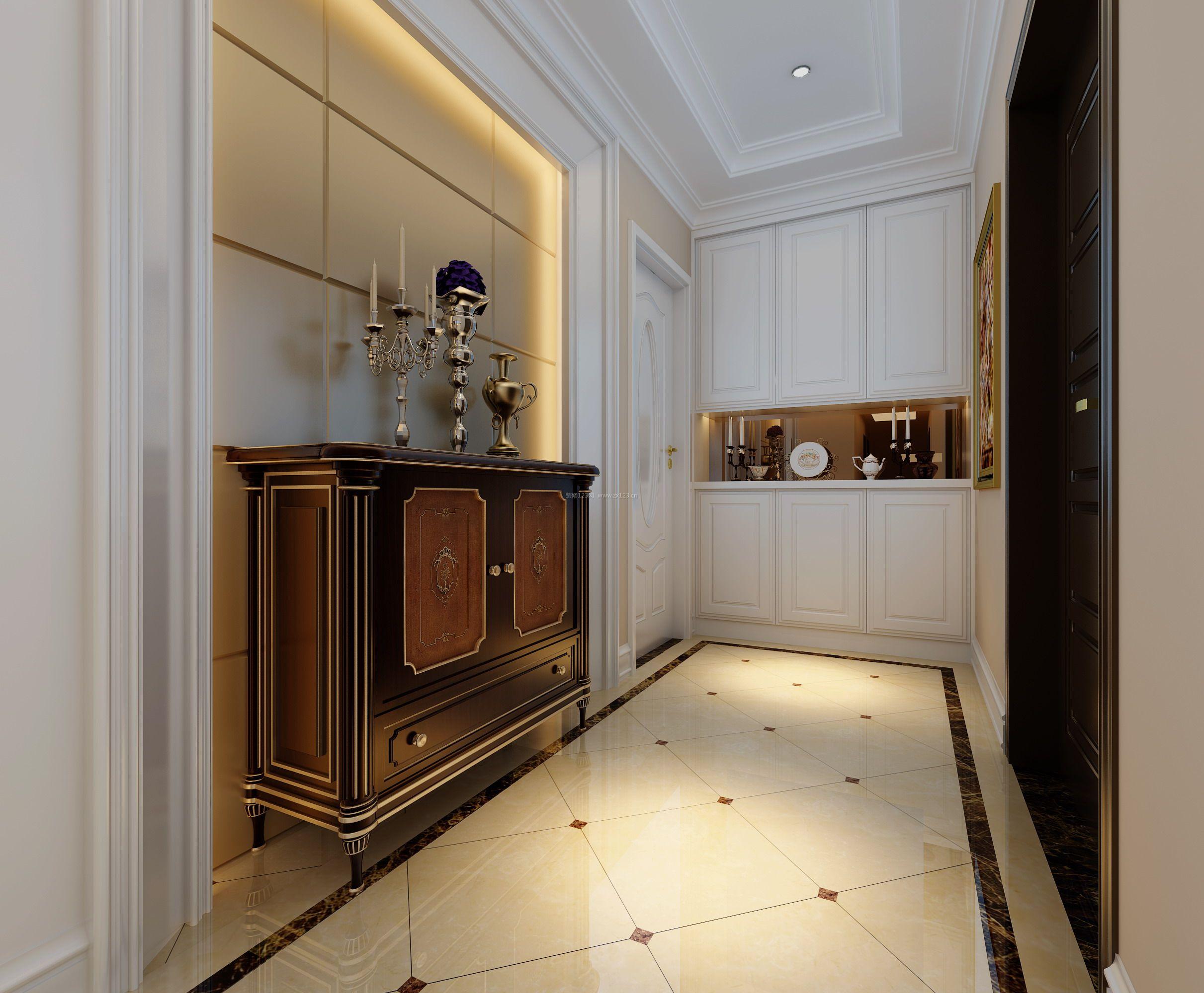 欧式家居过道装饰柜装修效果图片图片