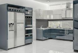 U型廚房櫥柜圖片